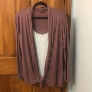 Venus Two in One Cardigan Top